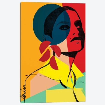 Face Off No. 1 3-Piece Canvas #RBN5} by Erin K. Robinson Canvas Artwork