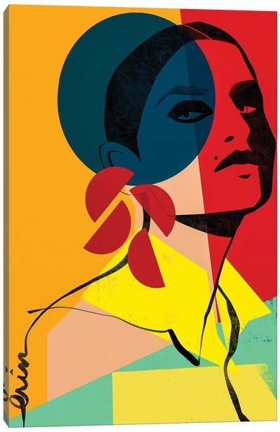 Face Off No. 1 Canvas Art Print