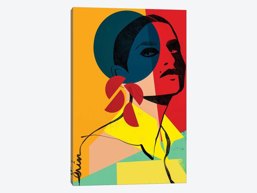 Face Off No. 1 by Erin K. Robinson 1-piece Canvas Art Print