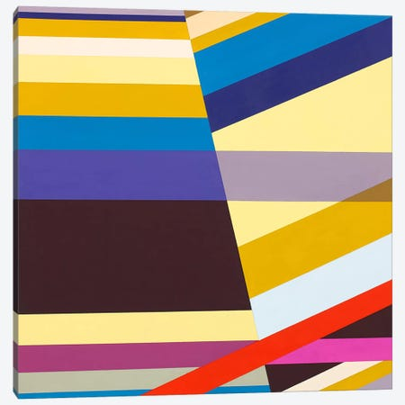 Intuitive Linearity Canvas Print #RBO11} by Richard Blanco Canvas Wall Art