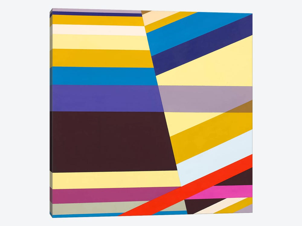Intuitive Linearity by Richard Blanco 1-piece Canvas Print