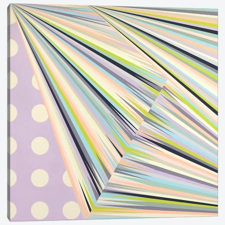 Linear Structure Canvas Print #RBO12} by Richard Blanco Canvas Art