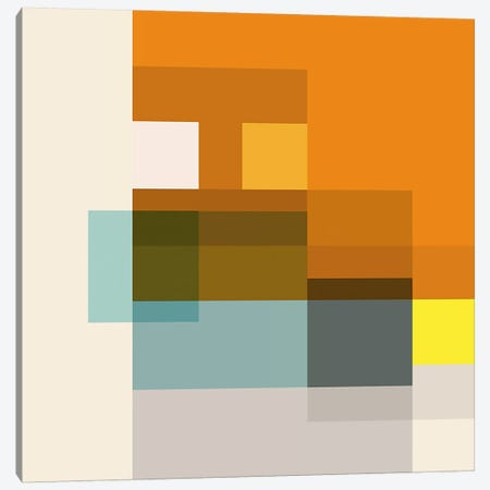 Pataphysical Square Canvas Print #RBO19} by Richard Blanco Canvas Wall Art