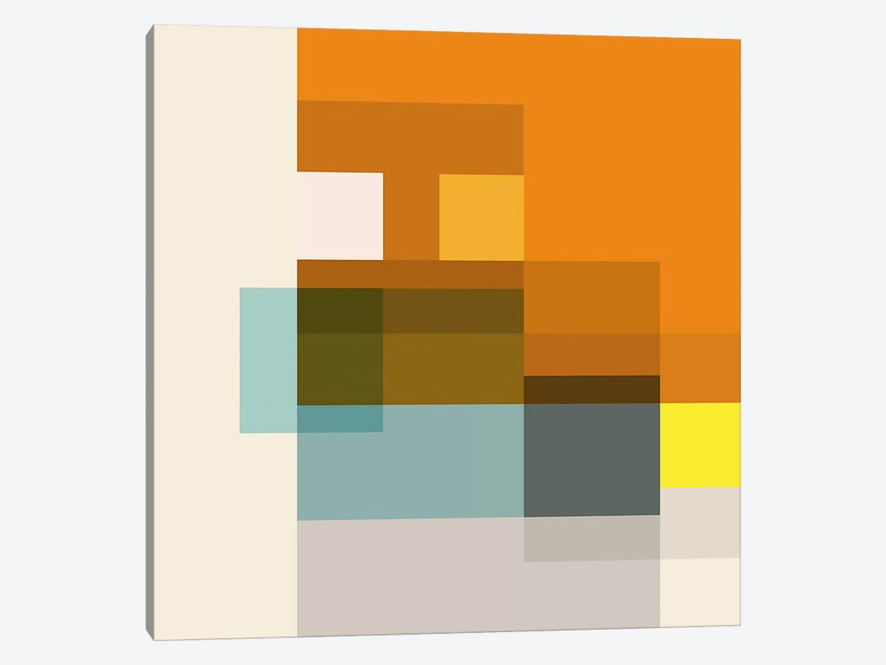 Pataphysical Square by Richard Blanco 1-piece Art Print