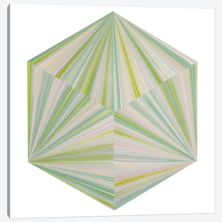 Cubic Seaside Canvas Print #RBO2} by Richard Blanco Canvas Artwork