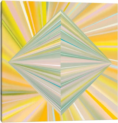 Reappearance of Geometric Perception Canvas Art Print