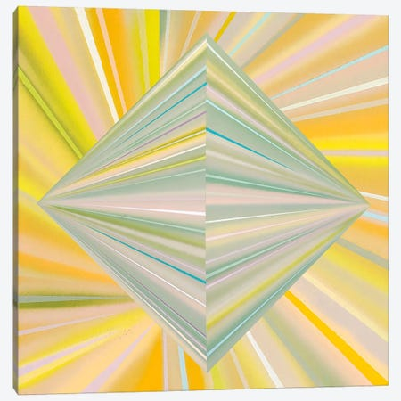 Reappearance of Geometric Perception Canvas Print #RBO30} by Richard Blanco Canvas Art