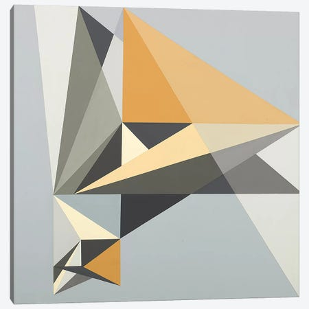 Fragmented Future Canvas Print #RBO4} by Richard Blanco Canvas Print