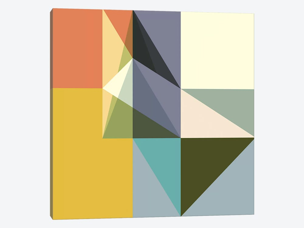 Fragmented Limitations by Richard Blanco 1-piece Canvas Art