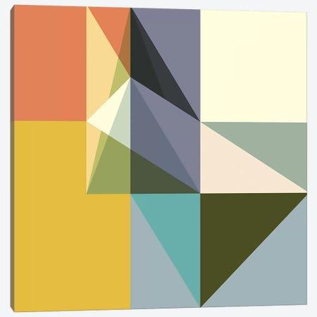 Fragmented Limitations Canvas Print #RBO5} by Richard Blanco Art Print