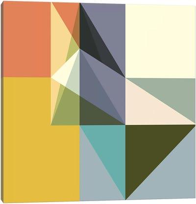 Fragmented Limitations Canvas Art Print