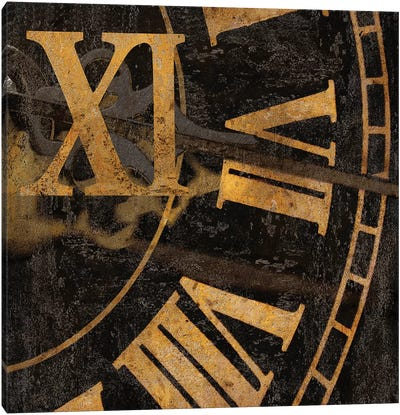 Roman Numerals I Canvas Art Print