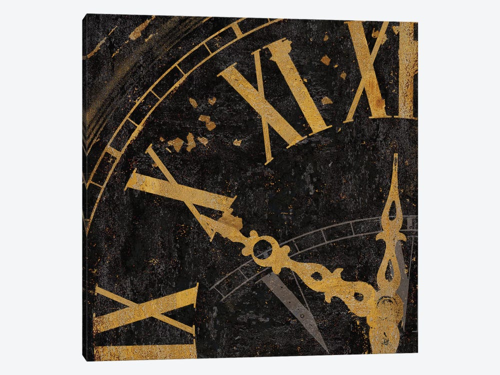 Roman Numerals II by Russell Brennan 1-piece Canvas Art