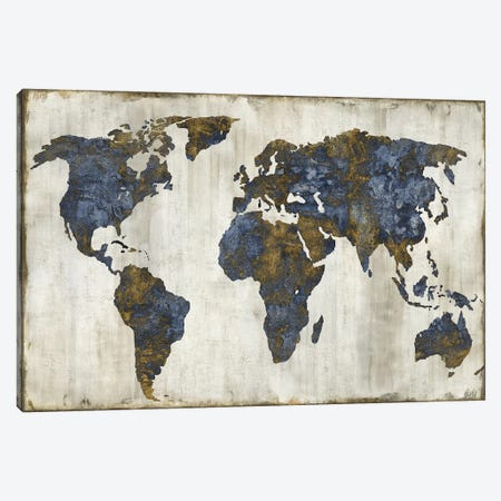 The World I Canvas Print #RBR21} by Russell Brennan Canvas Art