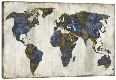 The World I Canvas Art Print