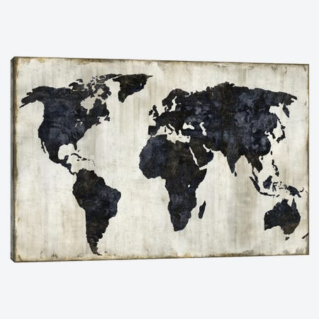 The World II Canvas Print #RBR22} by Russell Brennan Canvas Artwork