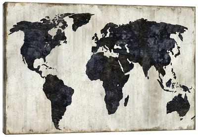 The World II Canvas Art Print