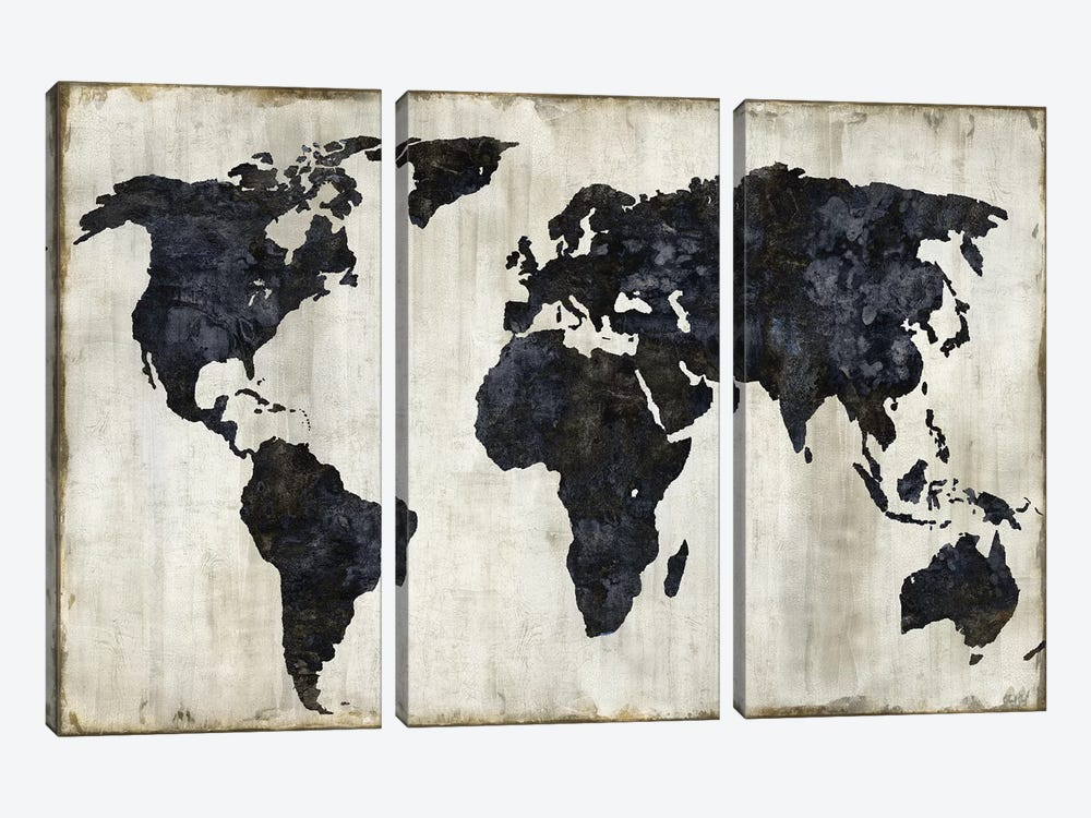 The World II by Russell Brennan 3-piece Canvas Print