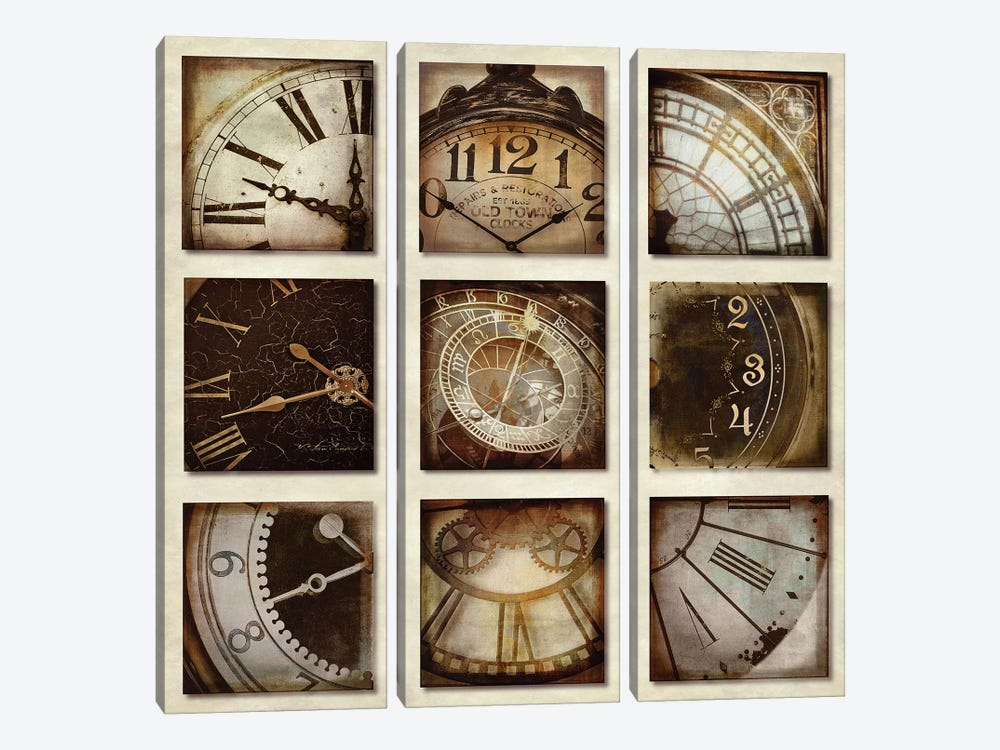 Time Has Come Today by Russell Brennan 3-piece Canvas Print
