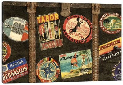 Vintage Voyage Canvas Print #RBR25