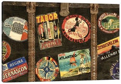 Vintage Voyage Canvas Art Print
