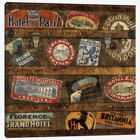 Well Traveled II Canvas Print #RBR27} by Russell Brennan Art Print