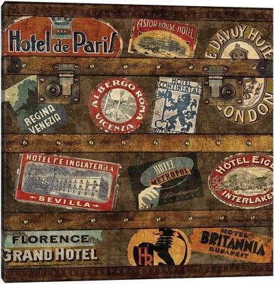 Well Traveled II Canvas Art Print