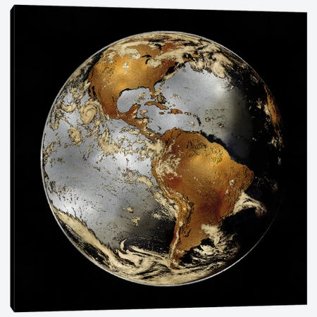 World Turning II Canvas Print #RBR30} by Russell Brennan Canvas Art Print