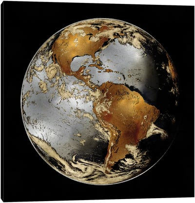 World Turning II Canvas Art Print