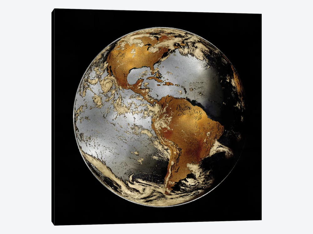 World Turning II by Russell Brennan 1-piece Canvas Wall Art