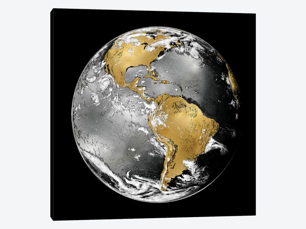 World Turning III by Russell Brennan 1-piece Canvas Print