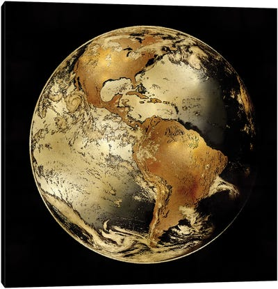World Turning IV Canvas Art Print