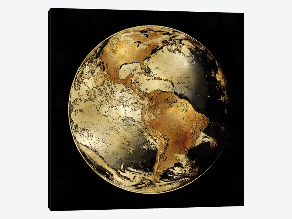 World Turning IV by Russell Brennan 1-piece Canvas Wall Art