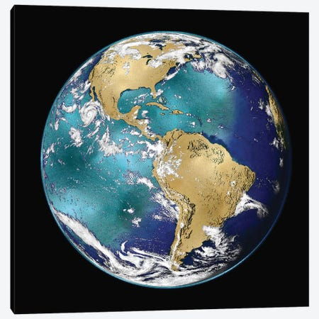 World Turning VI Canvas Print #RBR34} by Russell Brennan Canvas Wall Art