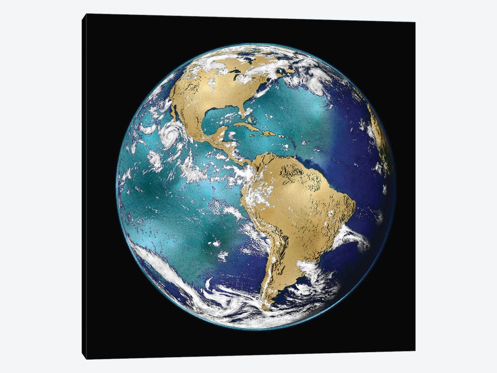 World Turning VI by Russell Brennan 1-piece Canvas Wall Art