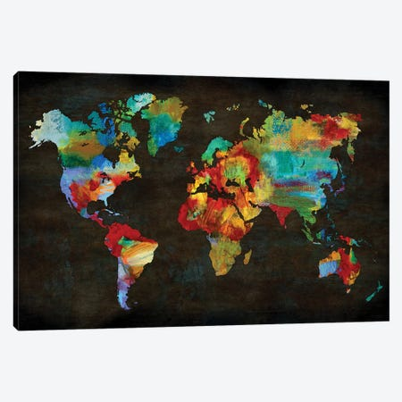 Color My World Canvas Print #RBR36} by Russell Brennan Canvas Art