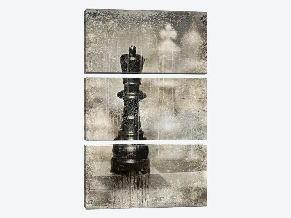 Checkmate I by Russell Brennan 3-piece Canvas Art Print
