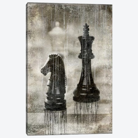 Checkmate II Canvas Print #RBR4} by Russell Brennan Art Print
