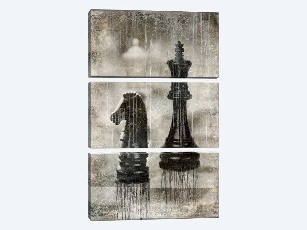 Checkmate II by Russell Brennan 3-piece Canvas Artwork
