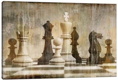 Chess Canvas Art Print