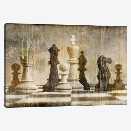 Chess Canvas Print #RBR5} by Russell Brennan Canvas Art Print