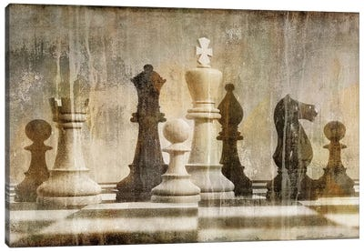 Chess Canvas Print #RBR5