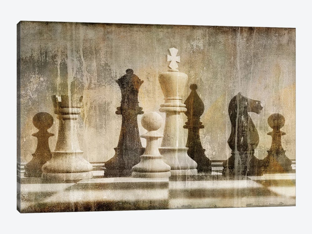 Chess by Russell Brennan 1-piece Canvas Art Print