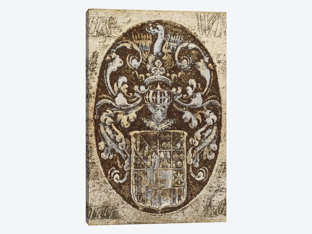 Coat Of Arms I by Russell Brennan 1-piece Canvas Artwork