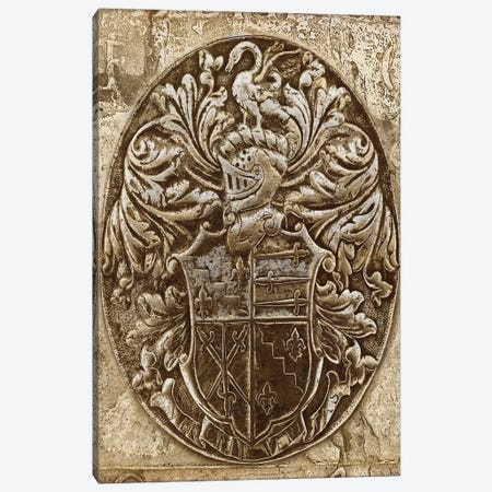 Coat Of Arms II Canvas Print #RBR7} by Russell Brennan Canvas Art Print