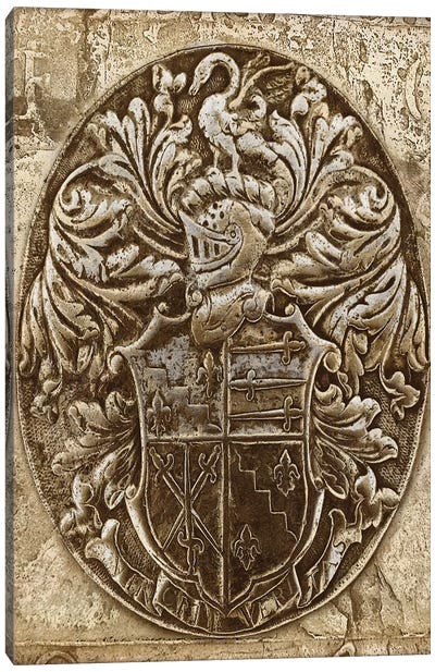 Coat Of Arms II Canvas Art Print