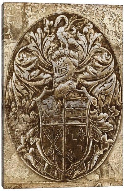 Coat Of Arms II Canvas Art Print