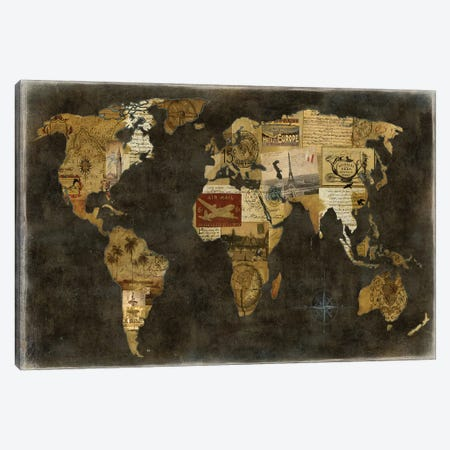 Faraway Places Canvas Print #RBR8} by Russell Brennan Canvas Wall Art