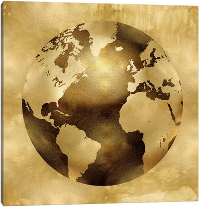 Golden Globe Canvas Art Print