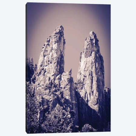The Cathedral Spires, Yosemite National Park, California, USA. Canvas Print #RBS129} by Russ Bishop Art Print